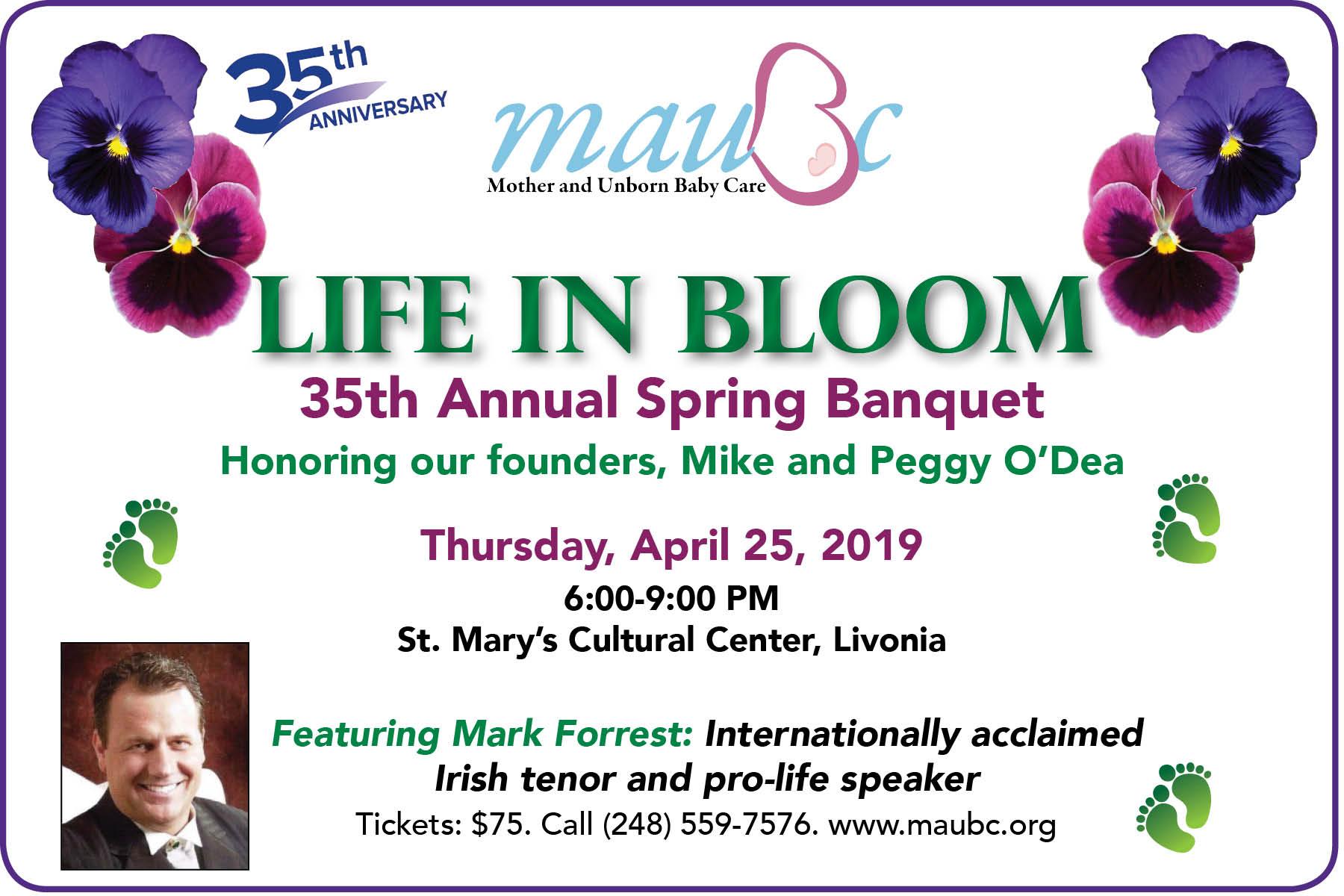 Spring Banquet 2019 35th Annual